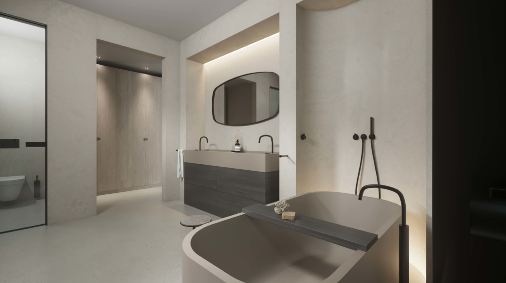 COCOON luxury bathroom project