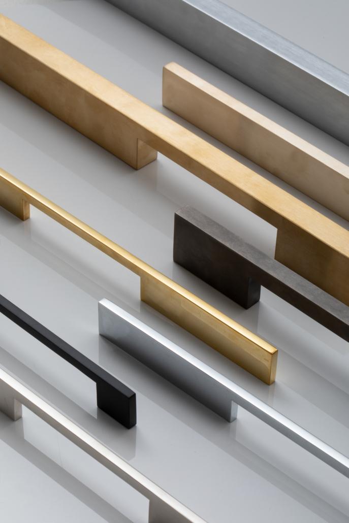 Designer Doorware simplistic and modern thin door handles