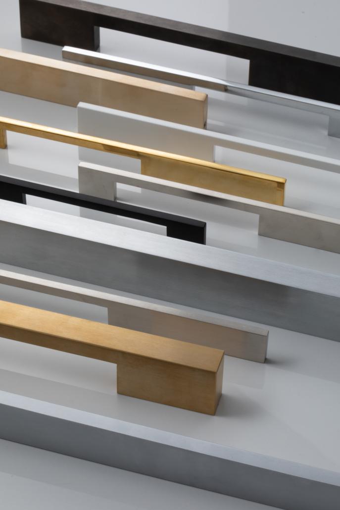 Designer Doorware door handle options