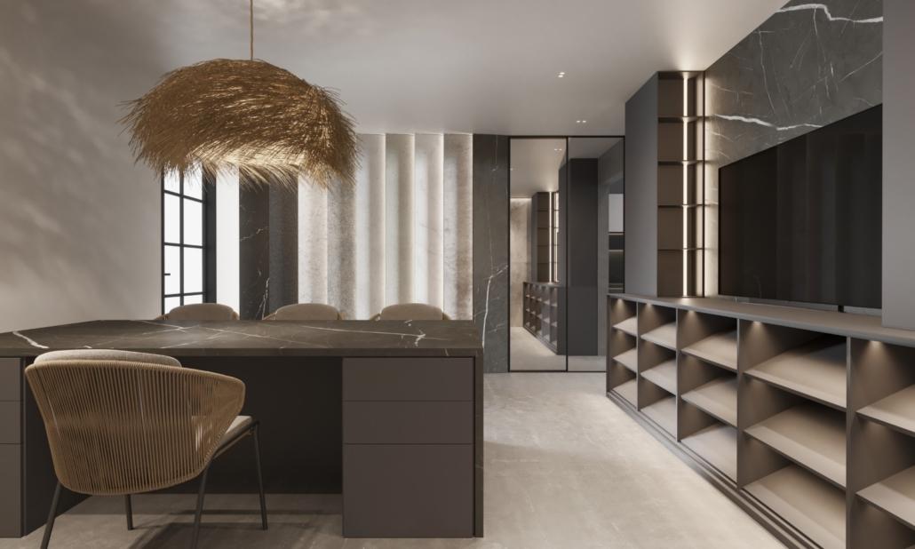 Specialty Hardware + Plumbing modern and elegant office space showroom