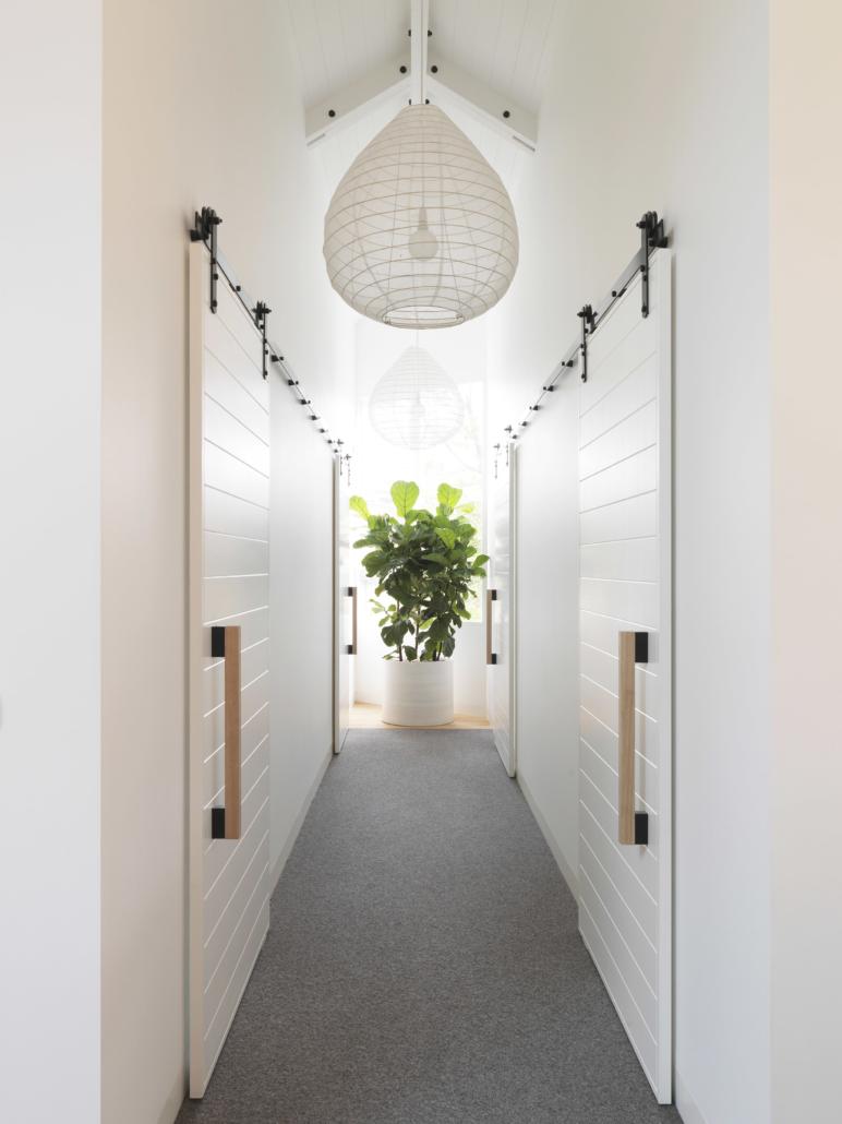 Designer Doorware wooden door handles
