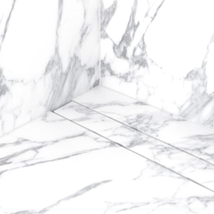 ESS Easy Drain simplistic marble stone drain for shower