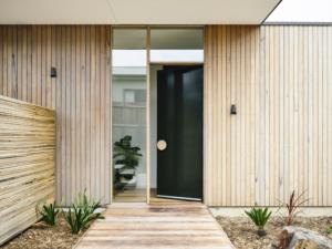Designer Doorware wooden door handle