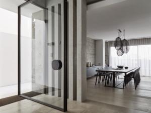 Designer Doorware metal round door handle for front door
