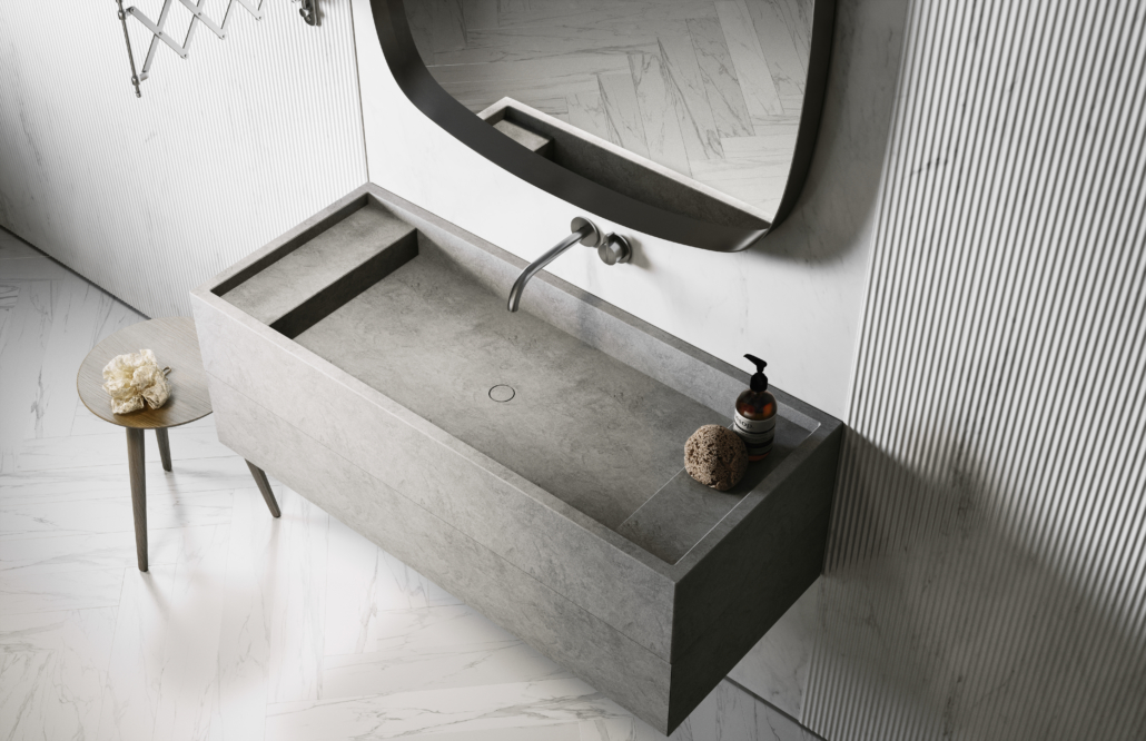 PIET BOON BATHROOM STONE BASIN BY COCOON