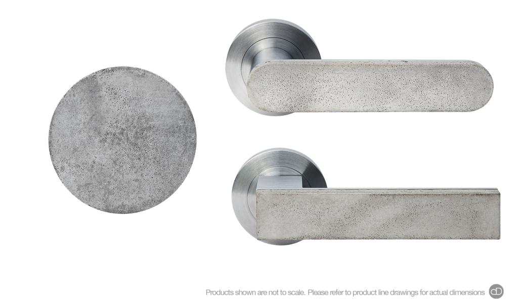 concrete collection designer doorware